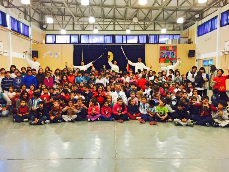 03阿根廷丘布特省199號小學分享心靈太極