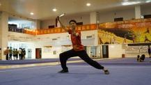 Practiced Tai Chi sword