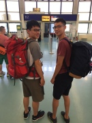 Became backpackers travel around the world
