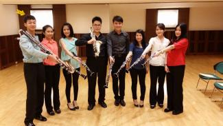Join clarinet octet